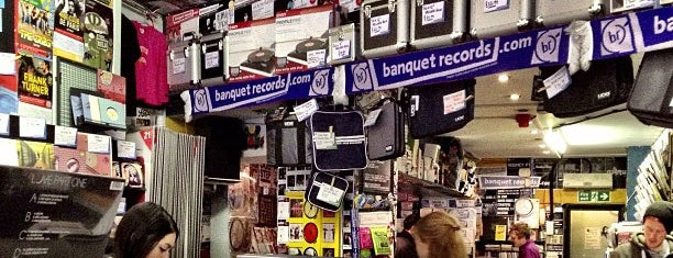 Banquet Records is one of Bin Flipping: Record Shops #vinyl.