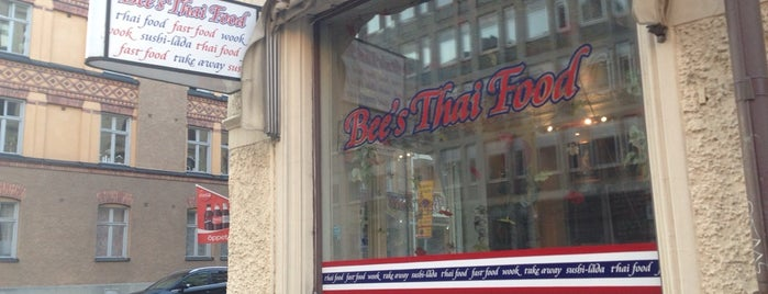 Bee's Thai Food is one of All-time favorites in Sweden.