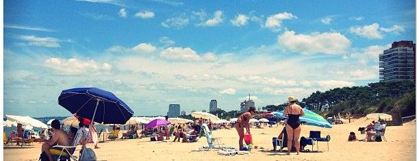 Playa Mansa - Parada 4 (Conrad) is one of Punta Del Este.