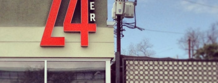 24 Diner is one of SXSW: The Travellers' Guide.