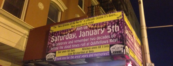 Oddfellows Restaurant is one of Nightlife.