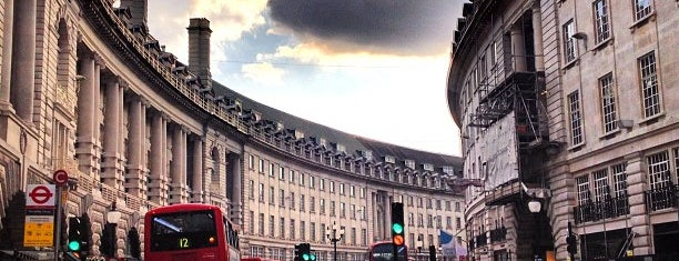 Regent Street is one of Places to Visit in London.