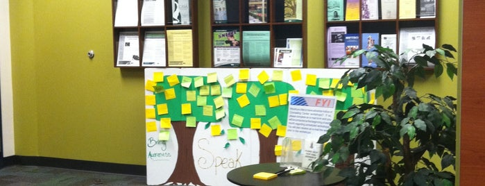 "USF Counseling Center is one of ""Places of Interest""."