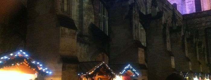 Winchester Christmas Market is one of Immersed English Activities.