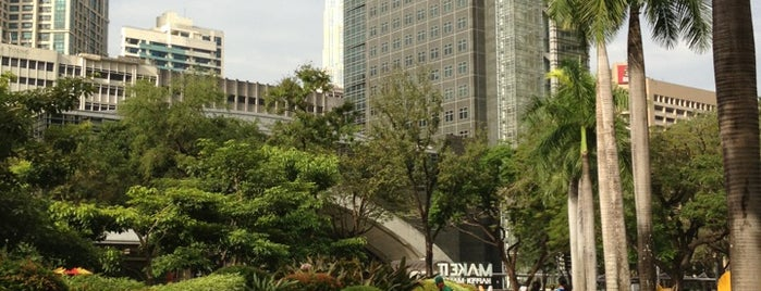 Ayala Triangle Gardens is one of Guide to Makati City's best spots.