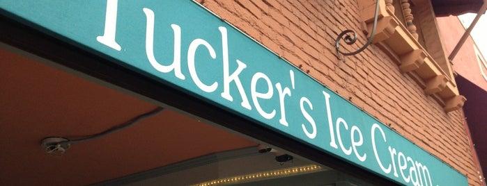 Tucker's Ice Cream is one of My fav Alameda eats!.