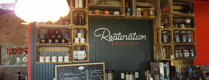 Restoration Roasters is one of Coffee Snob Approved.