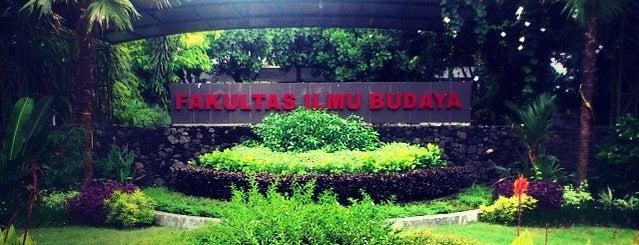 Fakultas Ilmu Budaya is one of UGM.