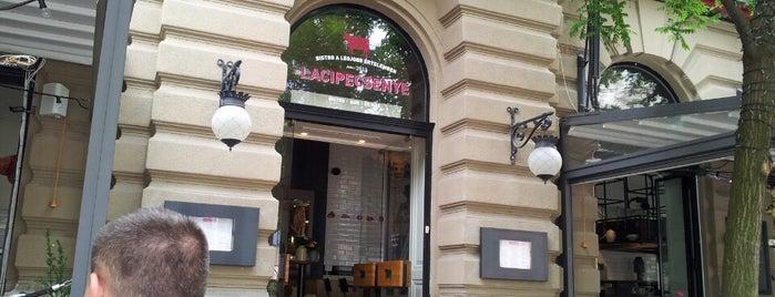 Laci!Pecsenye? is one of Budapest restaurants.