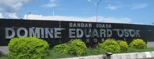 Bandara Dominique Edward Osok (SOQ) is one of Napak Tilas Perjalanan N9.