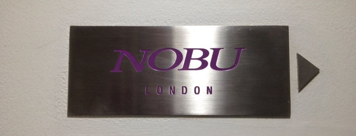 Nobu is one of London City Badge - London Calling.