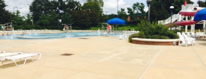 UREC Outdoor Pool Complex is one of Hitting For The Cycle!.