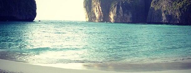 อ่าวมาหยา (Maya Bay) is one of Places in the world.