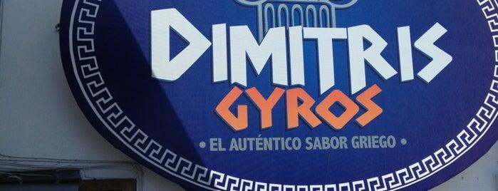 Dimitris Gyros is one of Comida.