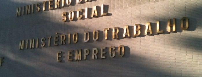 Ministério do Trabalho e Emprego (MTE) is one of Lugares....