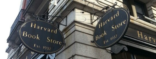 Harvard Book Store is one of B. Locations.
