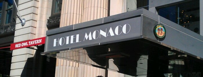 Hotel Monaco is one of Airports and hotels I have known.