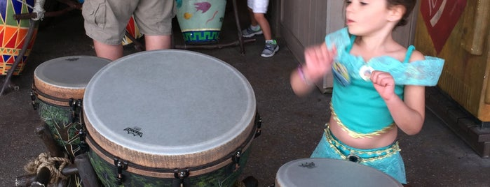Vincent's African Drums is one of Epcot World Showcase.