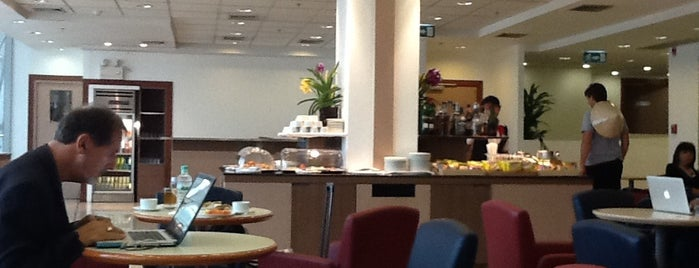 Sky Team Alliance - Skylounge is one of TH-Airport-BKK-1.