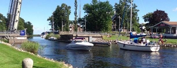 Göta kanal Karlsborg is one of Places I travel!.