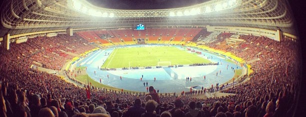 Luzhniki Stadium is one of Bicycle.