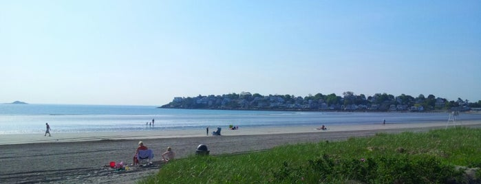 "Nahant Beach is one of To the Sea By ""T""."