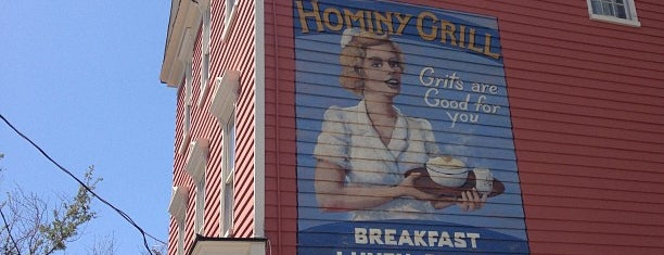 Hominy Grill is one of Bizarre Foods America: Charleston.