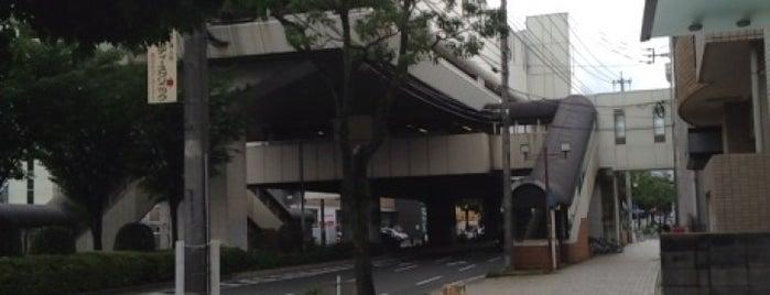 Moritsune Station is one of JR.