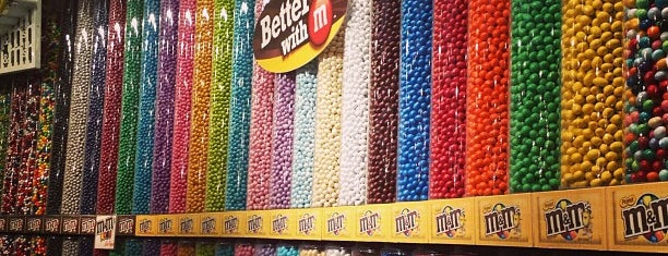 M&M's World is one of 2 do list # 2.