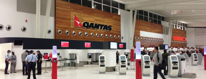 Adelaide Airport (ADL) is one of AU.