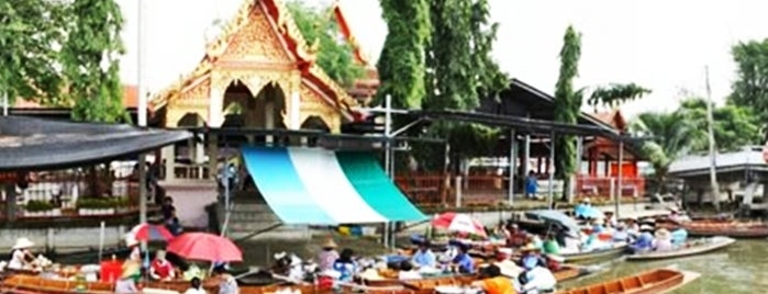 Wat Takhian Floating Market is one of Marketplace ¥.
