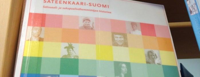 Malminkartanon kirjasto is one of HelMet-kirjaston palvelupisteet.
