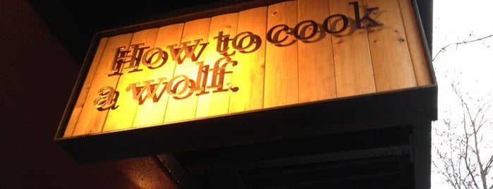 How To Cook A Wolf is one of Awesome Food in Seattle.