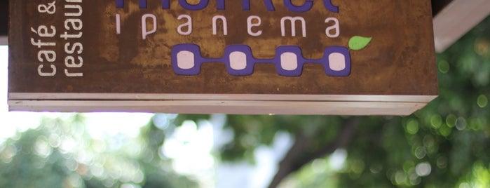 Market Ipanema Café e Restaurante is one of Quero fazer.