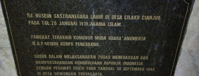 Monumen Patung Husein Sastranegara is one of Napak Tilas Perjalanan N9.