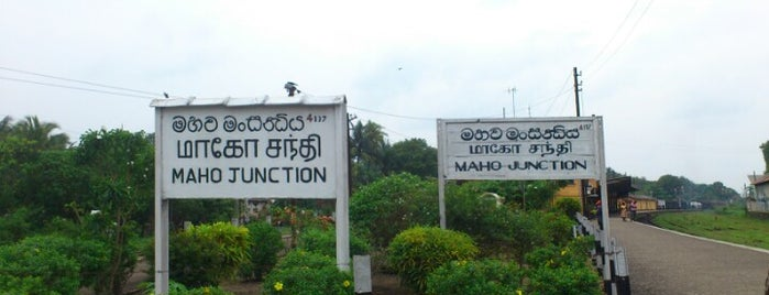 Maho Junction Railway Station is one of Railway Stations In Sri Lanka.