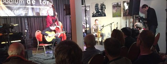 Jazzpodium de Tor is one of Muziek Enschede #4sqCities.