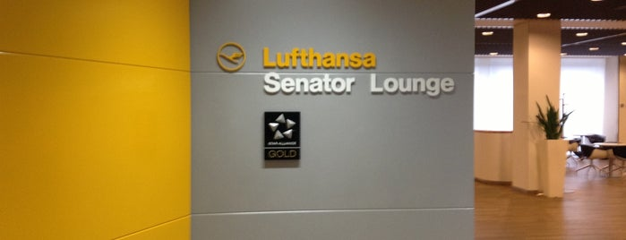 Lufthansa Senator Lounge B is one of Lufthansa Lounges.