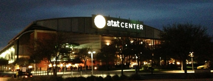AT&T Center is one of Xwxo.
