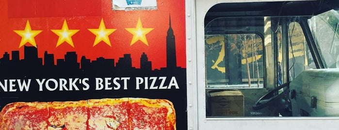 Jiannetto's Pizza Truck (Downtown) is one of NYC Food Trucks.
