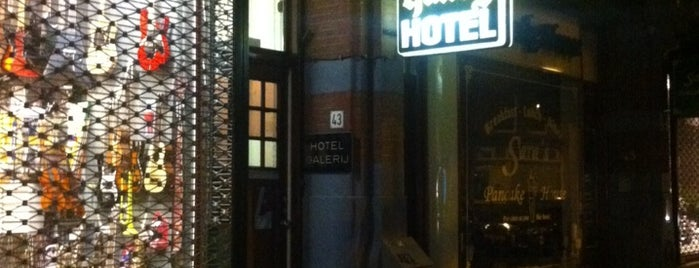 Hotel Galerij is one of maybe some day....
