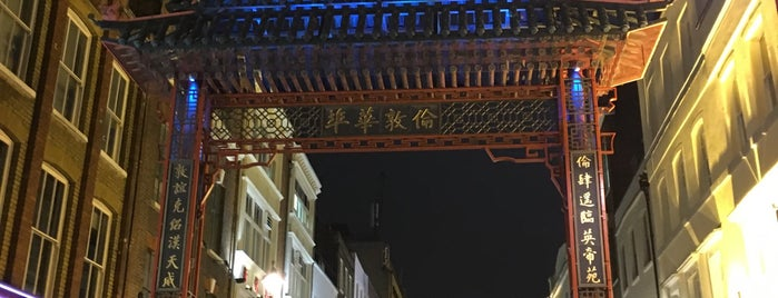 Chinatown is one of London.