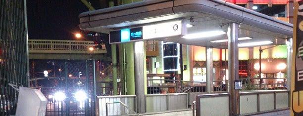 Suminoekoen Station is one of 大阪市営地下鉄 四つ橋線.