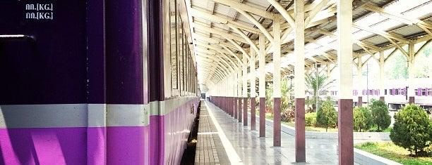 Chiang Mai Railway Station (SRT1222) is one of Chaing Mai (เชียงใหม่).