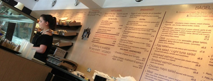 Bagelicious is one of Coffee, Breakfasts and Lunch. Cafe's of the SE.