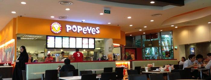 Food in singapore for Popeyes louisiana kitchen austin tx