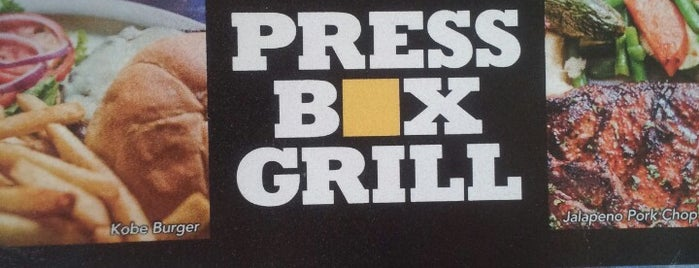 Press Box Grill is one of Top Local Bars for Stars fans.