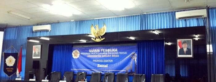 Fakultas Teknik is one of UGM.