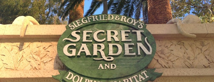 Siegfried & Roy's Secret Garden and Dolphin Habitat is one of Las Vegas.