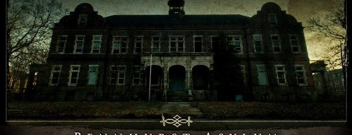 Pennhurst Asylum is one of Haunted to-do list.